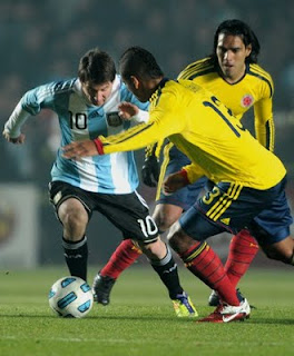 Argentina depressed by second Copa draw.