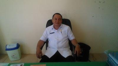 Kepala Kesbangpol Bolmut, Drs. Thamrin Daud.