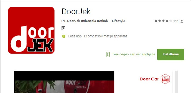 DoorJek Startup Medan Pembersi Kendaraan