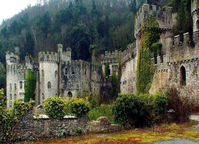 Castle Gwrych Galles