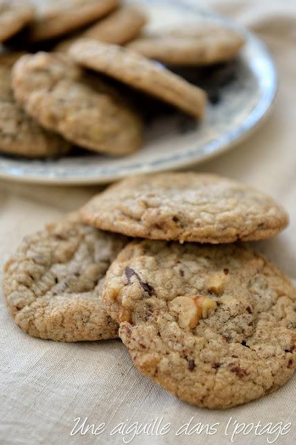 Cookies à l'ancienne ( Oatmeal cookies inspirés de Laura Todd)