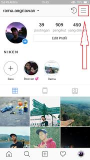 klik icon pojok kanan atas