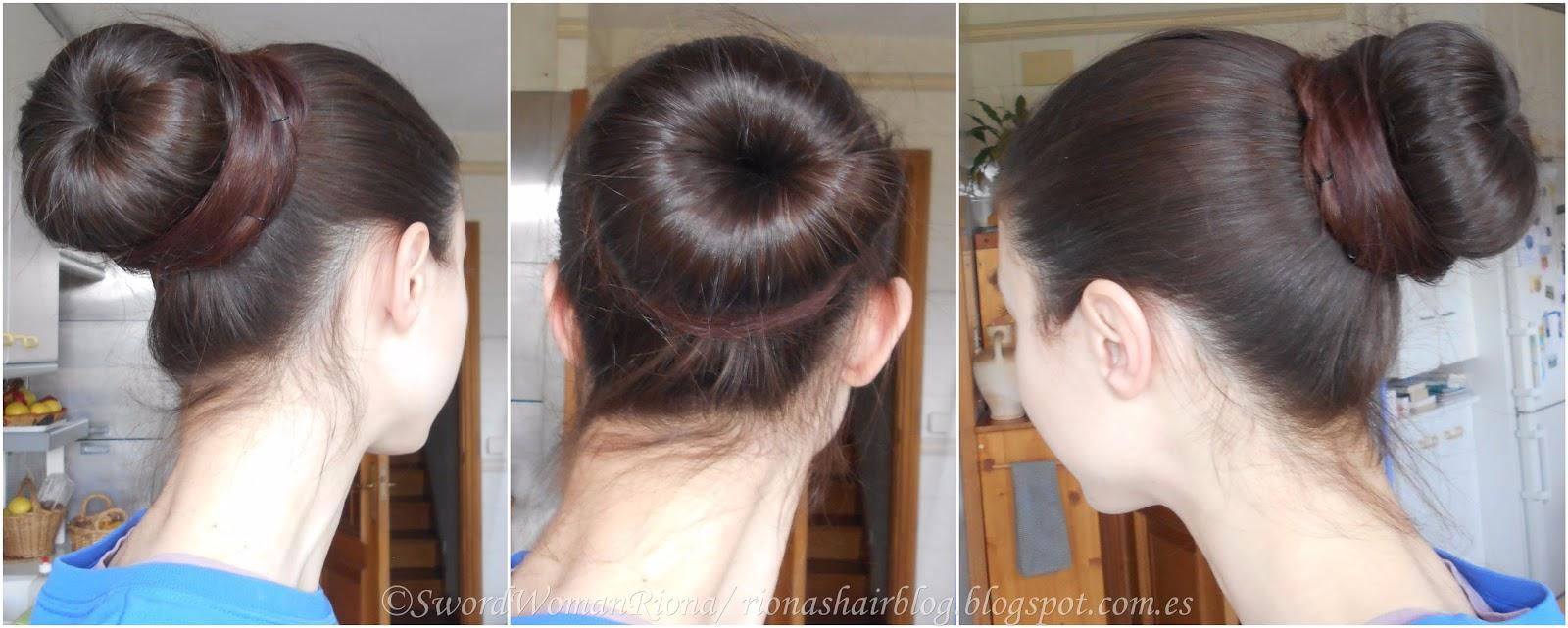 A Sword Womans Natural Hair Blog Hairstyles The Donut Bun