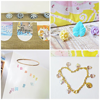 gifts for little ones bracelet ring set flower mobiles doily book buntings