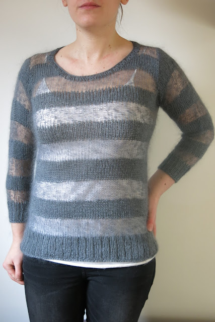 sweater knitting pattern, merino