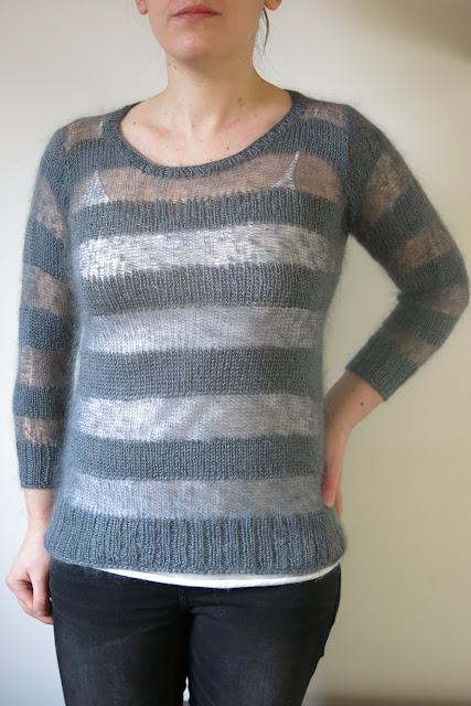 sweater knitting pattern, merino
