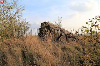 Полукапонир №4. Руины