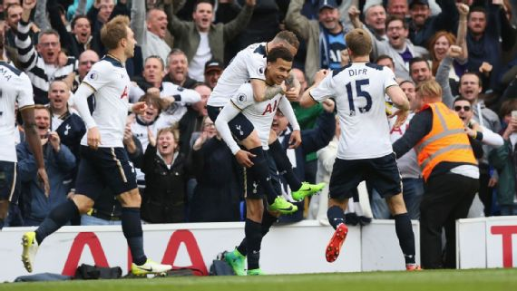 Tottenham end Arsenal curse and keep title race alive