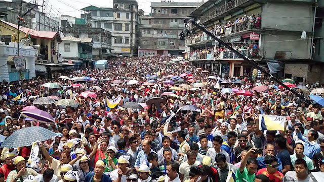 Jana Andolan Party Meeting in Kalimpong