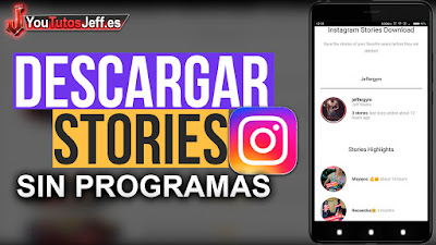 como descargar stories de instagram, descargar stories de instagram, sin programas, trucos instagram