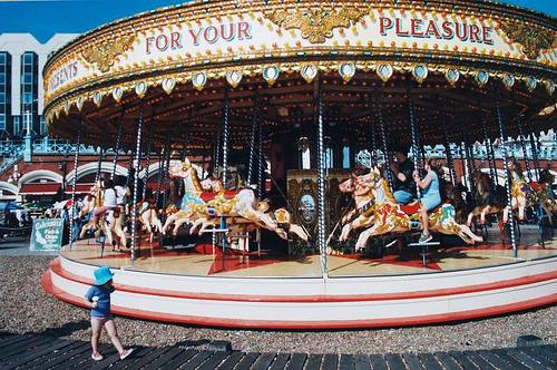 Brighton Seafront Carousel