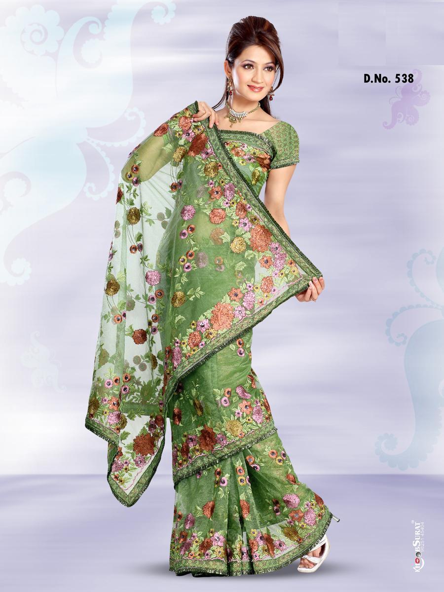 Saree World: Latest Design Parsi Saree's-1