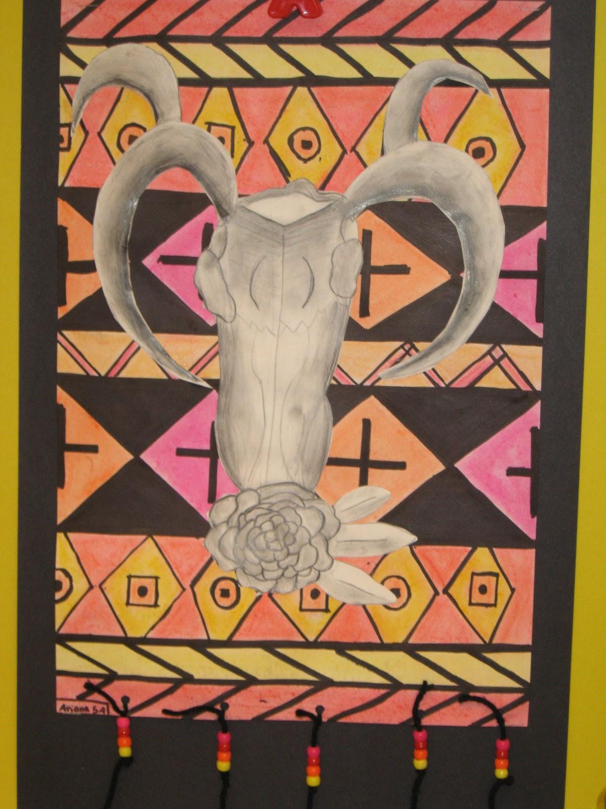 Jamestown Elementary Art Blog 5th Grade Georgia O Keeffe