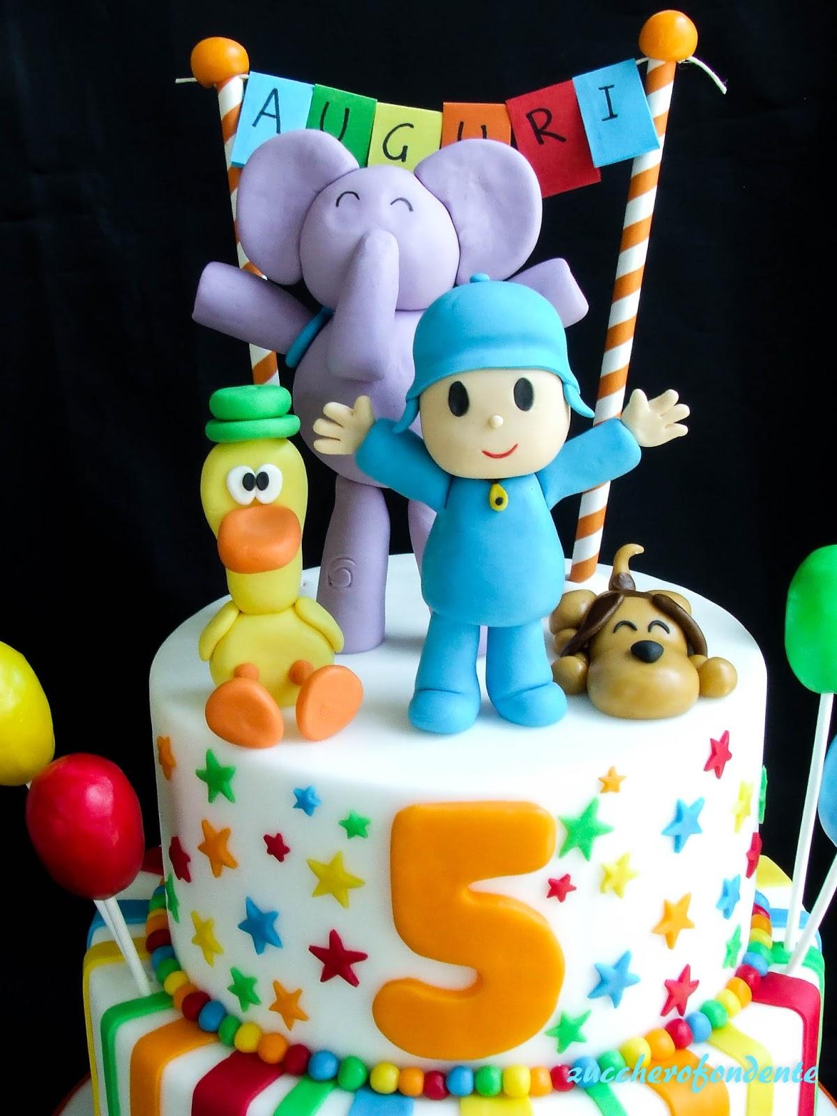 Zuccherofondente torte di compleanno