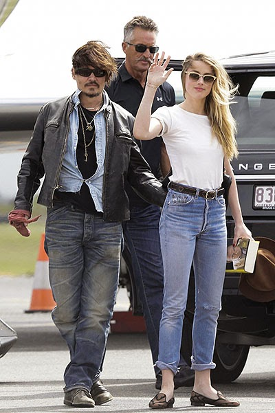 Johnny Depp and Amber Heard appeared together in public