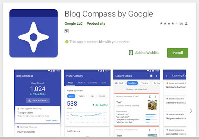 blog compass app for blogging