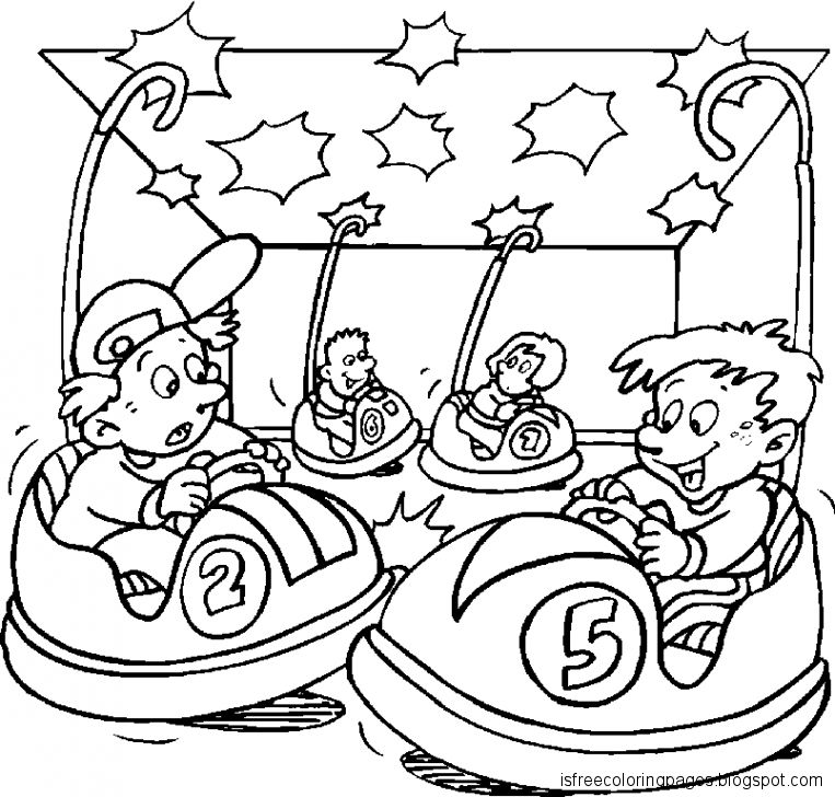 Circus Coloring Pages - GetColoringPages.com | 728x763
