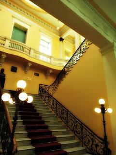 Escadaria da Prefeitura Municipal de Porto Alegre