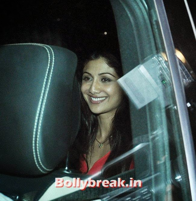 Shilpa Shetty, Celebs at Heropanti Special Screening