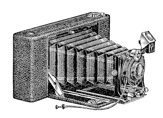 antique box camera photography image illustration