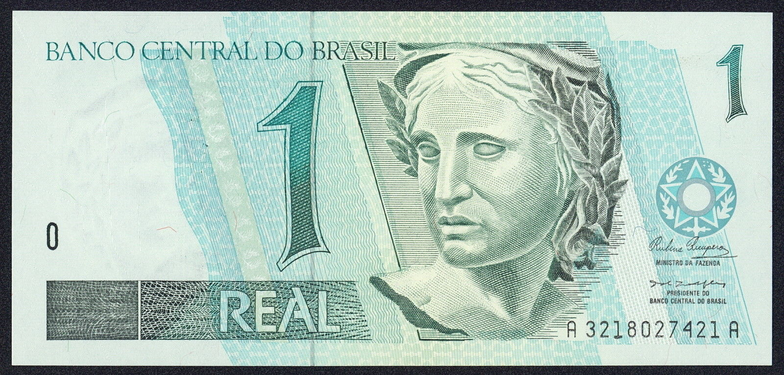 Brazil 1 Real banknote 1994 World Banknotes & Coins Pictures   Old Money, Foreign Currency Notes ...
