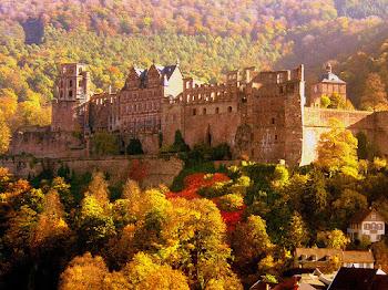 Menarik di Istana Lama Heidelberg, Germany