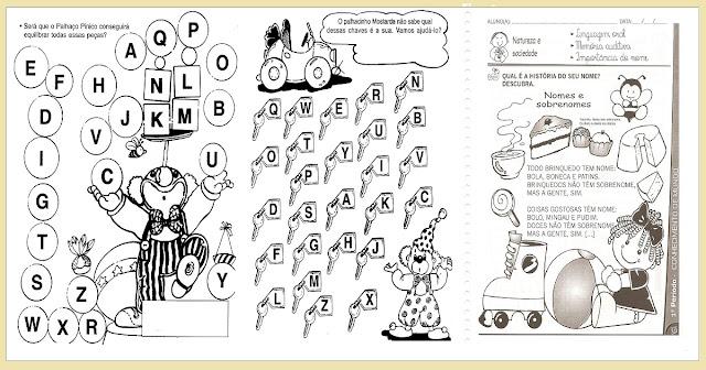 Confira nesta postagem atividades educativas prontas para imprimir indicadas a alunos das series inicias para trabalhar identidade.