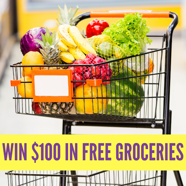 New Facebook Page Celebration Giveaway - WIN FREE Groceries