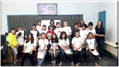 Estudantes da Escola Monte Carlo na segunda fase da Obmep