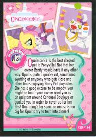 My Little Pony Opalescence Series 1 Trading Card