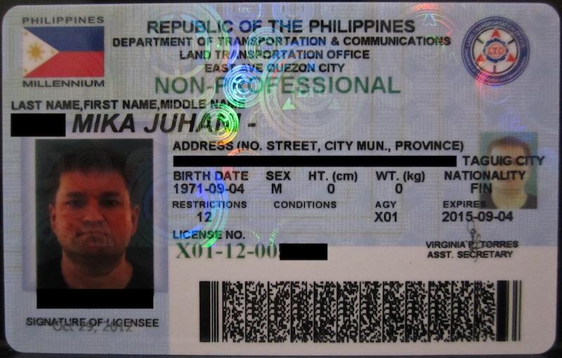 kansainvälisen ajokortin hankinta