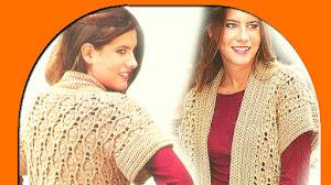 Chaleco Crochet para Talles Grandes / Paso a paso