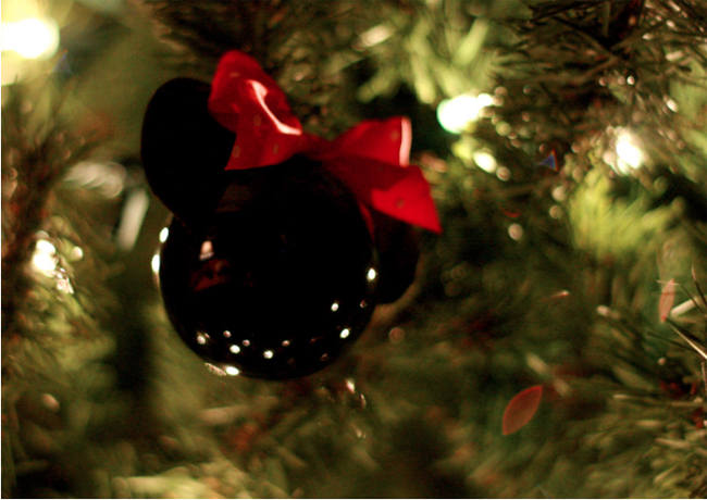 mickey and minnie felt christmas oranments disney family - Mickey And Minnie Christmas Decorations
