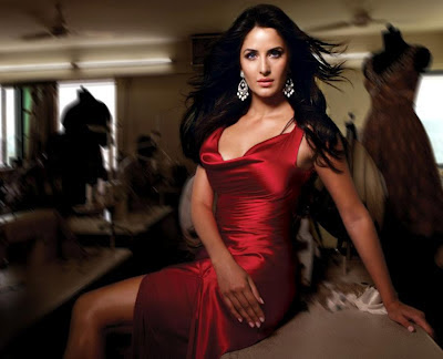 katrina kaif beautiful red dress wallpaper