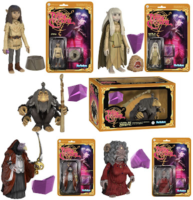 The Dark Crystal ReAction Retro Action Figures by Funko