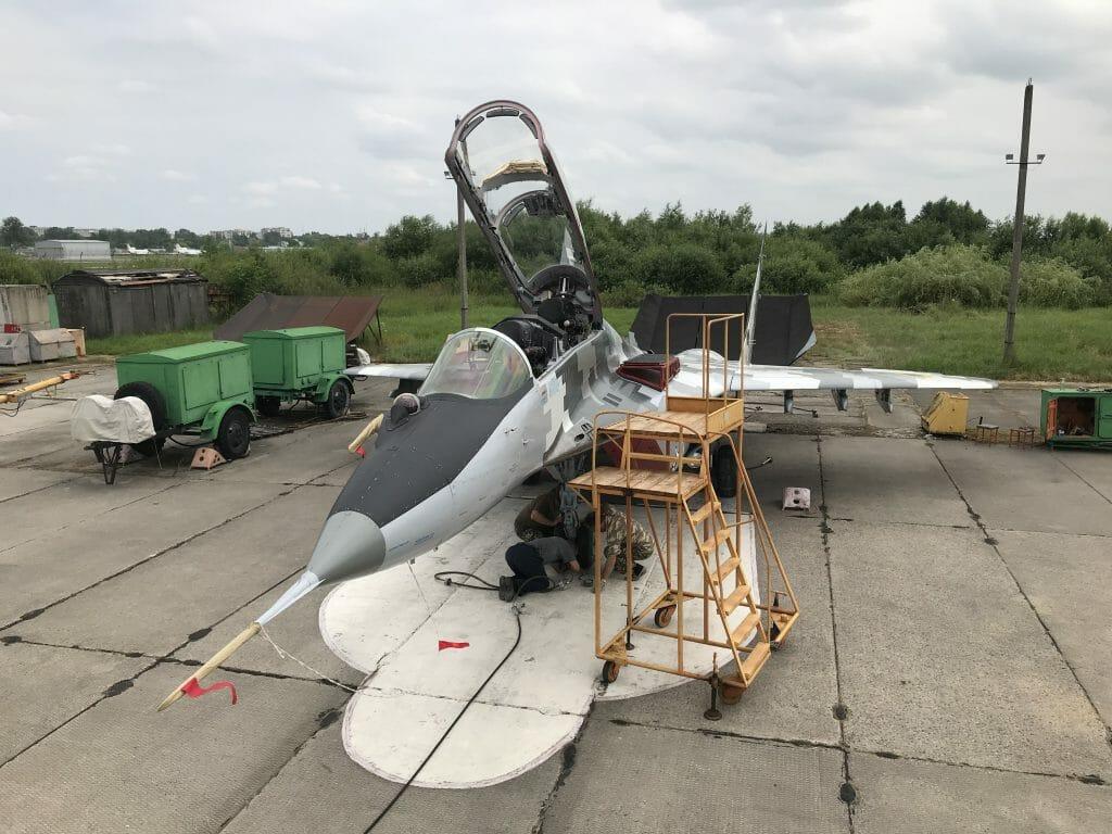 ЛДАРЗ поставив на крило ще один літак МиГ-29У