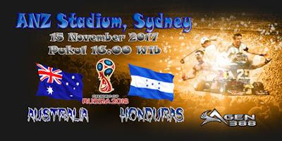 AGEN BOLA ONLINE TERBESAR - PREDIKSI SKOR KUALIFIKASI PIALA DUNIA AUSTRALIA VS HONDURAS 15 NOVEMBER 2017