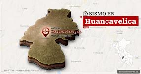 Temblor en Huancavelica de 3.5 Grados (Hoy Jueves 19 Octubre 2017) Sismo EPICENTRO Castrovirreyna - IGP - www.igp.gob.pe