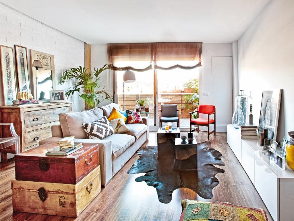 El blog de demarques un piso con mucho estilo en madrid Pisos bien decorados