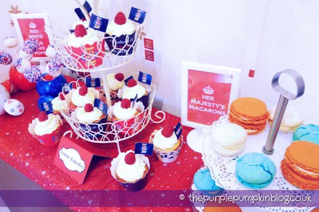 Diamond Jubilee Cupcakes, Cake Pops and Macarons
