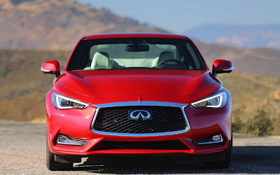 2017 infiniti q60 red widescreen resolution hd wallpaper