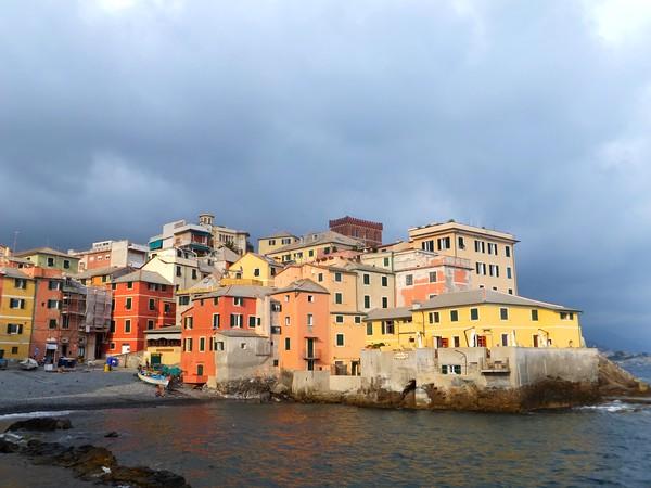 gênes genova boccadasse village pêcheurs