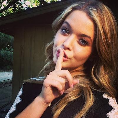 PLL actress Sasha Pieterse kept DWTS a secret from cast