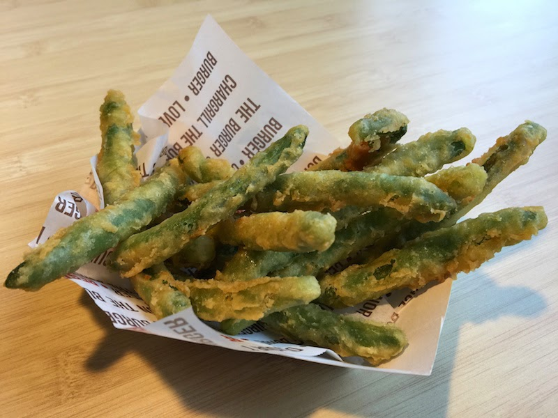 Tempura green beans at Habit Burger