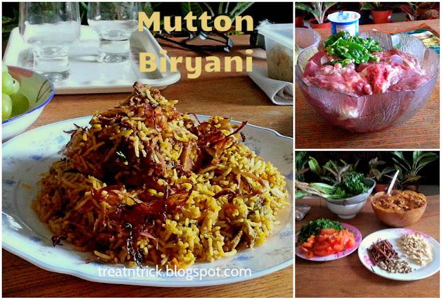 Mutton Biryani Recipe @ treatntrick.blogspot.com