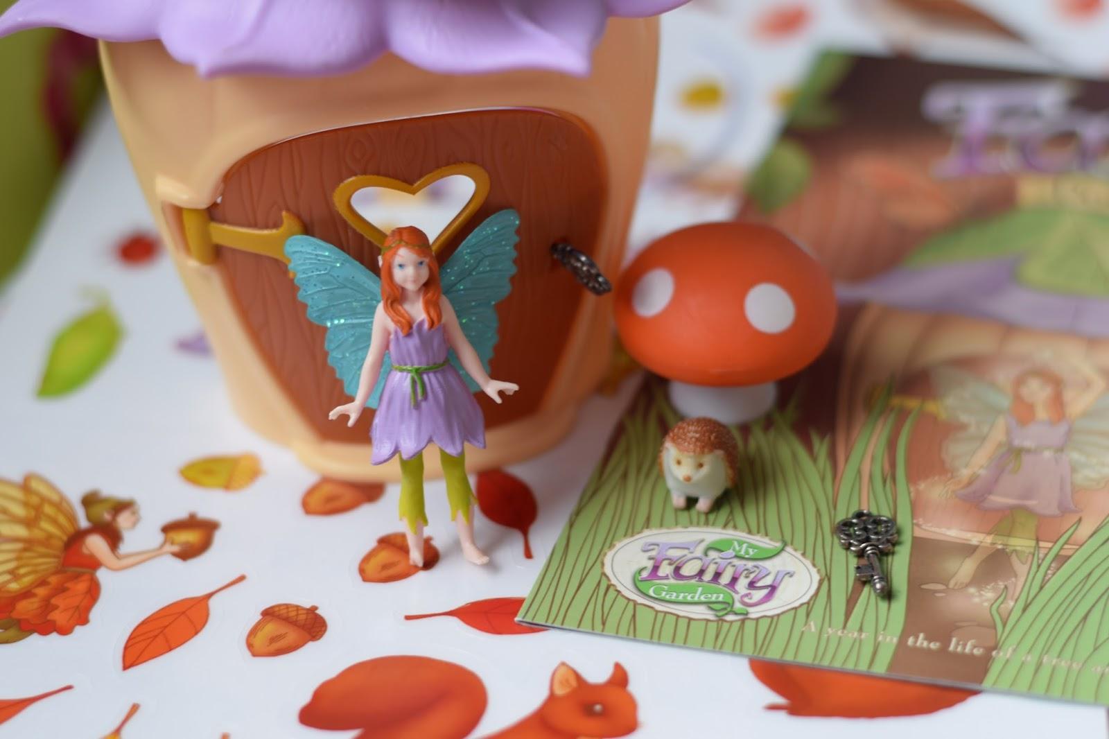 set of 4 Fairy Door Sticker
