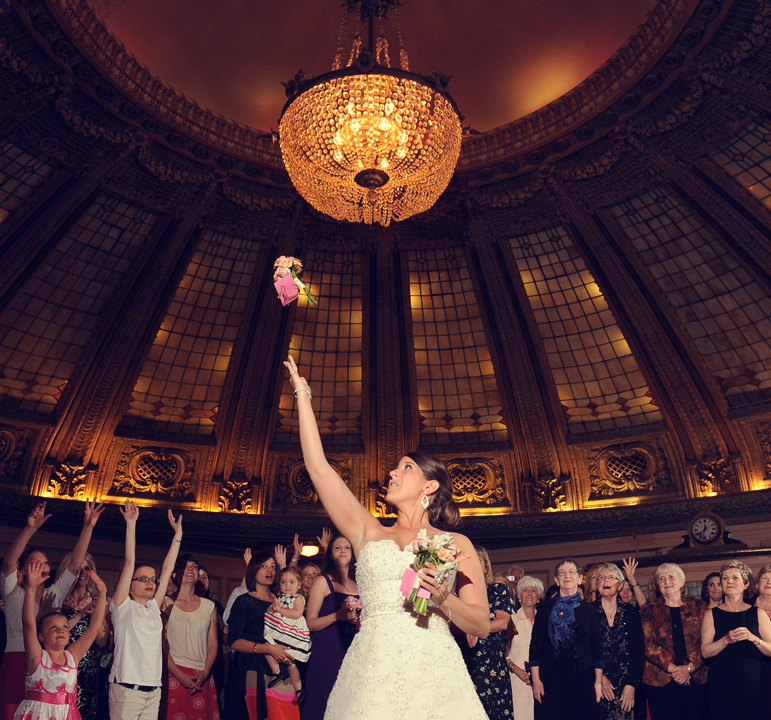 Wedding Wednesday: Tosses With A Twist