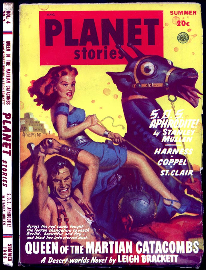 Sweet Freedom Sf Magazines Head To Head Planet Stories Summer