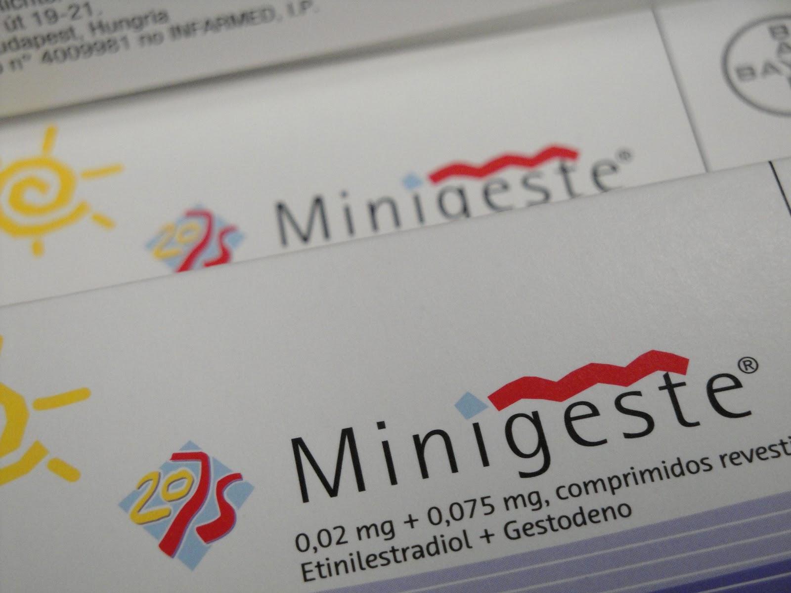 corrimento castanho pilula minigeste