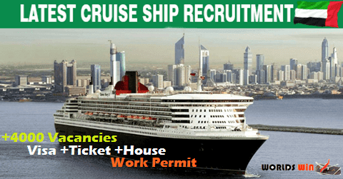 Opportunities At Careers Cruise Ship In UAE Worlds Win Job Fair - Cruise ship director salary